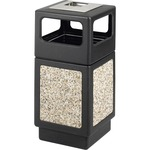 Safco Ash Urn Side Open Receptacle SAF9473NC