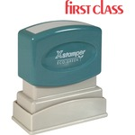 Xstamper Pre-Inked FIRST CLASS Message Stamp XST1332