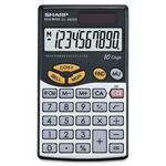 Sharp Business Wallet Calculator SHREL480SRB