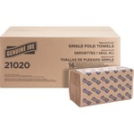 Genuine Joe Single-fold Paper Towel GJO21020