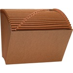 Sparco Heavy-Duty Accordion Files without Flap SPR26534