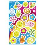 Trend Rockin' Retro Foil Bright Stickers TEPT37023
