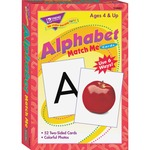Trend Alphabet Match Me Flash Cards TEPT58001
