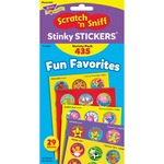 Trend Stinky Stickers Fun & Fancy Jumbo Pack Stickers TEPT6491