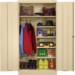 Tennsco Combination Wardrobe/Storage Cabinet TNN7214PY