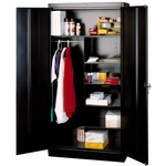 Tennsco Steel Duplex Combination Cabinet TNN7820BK