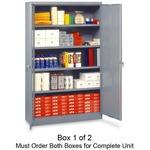 Tennsco Jumbo Storage Cabinet TNNJ478LGY