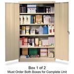 Tennsco Jumbo Storage Cabinet TNNJ478PY