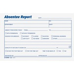 Tops Absentee Report Form TOP12391