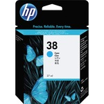 HP 38 Cyan Pigment Original Ink Cartridge HEWC9415A