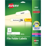 looking for avery permanent assorted laser inkjet filing labels  - excellent customer service - sku: ave8366