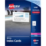 search for avery laser inkjet index cards - discount prices - sku: ave5388