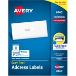 large supply of avery easy peel white inkjet mailing labels - quick and easy ordering - sku: ave8460