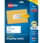 shopping online for avery white inkjet shipping labels - giant selection - sku: ave8163