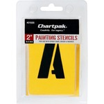 lower prices on chartpak painting letters numbers stencils - quick shipping - sku: cha01555
