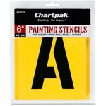 get chartpak painting letters numbers stencils - new  lower pricing - sku: cha01575