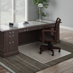 deflect-o beveled edge chairmats - top notch customer support team - sku: defcm17243