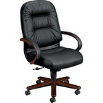 hon pillow-soft executive high-back swivel chairs - sku: hon2191nsr11 - rapid shipping