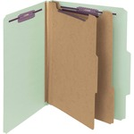 smead plain 2 5 tab colored classification folders - sku: smd14076 - toll-free customer support