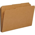smead 1 3 cut kraft file folders - sku: smd15734 - spend less