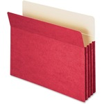 smead colored top tab file pockets - sku: smd73231 - quick shipping