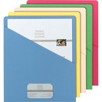 pick up smead slash pocket file jackets - wide selection - sku: smd75425