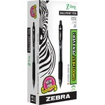 wide assortment of zebra z-grip retractable ballpoint pens - top notch customer care staff - sku: zeb22210