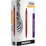 find zebra orbitz retractable gel pens - easy online ordering - sku: zeb41030