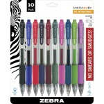 shop for zebra sarasa gel retractable pens - broad selection - sku: zeb46881