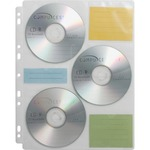 compucessory 25 cd media binder refill sheets - outstanding customer support - sku: ccs22297