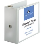 buying sparco slant ring vue binders - toll-free customer care staff - sku: spr09901