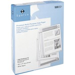 large variety of sparco 3-hole punched copy paper - rapid delivery - sku: spr06121