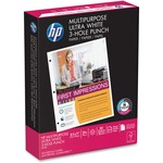 need some hp multipurpose 3-hole punched paper  - excellent customer care staff - sku: hew113101