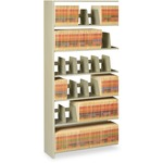 pick up tennsco shelving starter unit   add-on shelves - top rated customer support staff - sku: tnn1276acsd