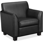 in the market for basyx vl870 series leather club chair  - top notch customer care - sku: bsxvl871st11