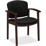 discounted pricing on hon 2111 series single rail arm guest chairs - fast shipping - sku: hon2111nbe11