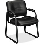 shopping for basyx vl690 series leather guest chair  - fast   free shipping - sku: bsxvl693sp11