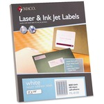 buying maco multipurpose self-adhesive mailing labels - broad selection - sku: macml8100