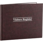 acco wilson jones 112 page visitor s register - super fast shipping - sku: wljs490