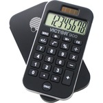 find victor 8-digit lcd dual-power pocket calculator - new  lower prices - sku: vct900