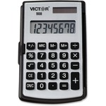 order victor 8-digit dual power pocket calculator - outstanding customer support - sku: vct908