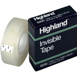 3m highland invisible tape - sku: mmm6200341296 - excellent customer service