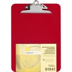 nature saver recyclable plastic clipboards - sku: nat01541 - fast shipping