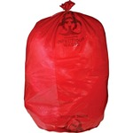 unimed red biohazard infectious waste bags - sku: umiriwb142143 - excellent customer care staff