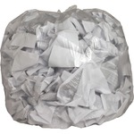 genuine joe clear flat bottom trash can liners - toll-free customer care - sku: gjo01015