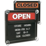 order u.s. stamp   sign open closed letter board - quick shipping - sku: uss3727