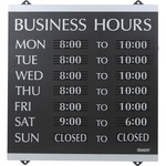 get the lowest prices on u.s. stamp   sign century business hours sign - professional customer service - sku: uss4247