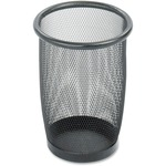 buying safco round mesh wastebaskets - great deals - sku: saf9716bl