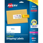 huge selection of avery laser inkjet printer shipping labels - super fast delivery - sku: ave18163