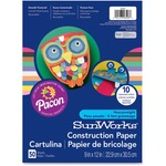 pacon sunworks heavyweight construction paper - top notch customer support team - sku: pac6203